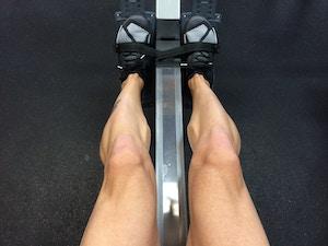 Trainierte Beine